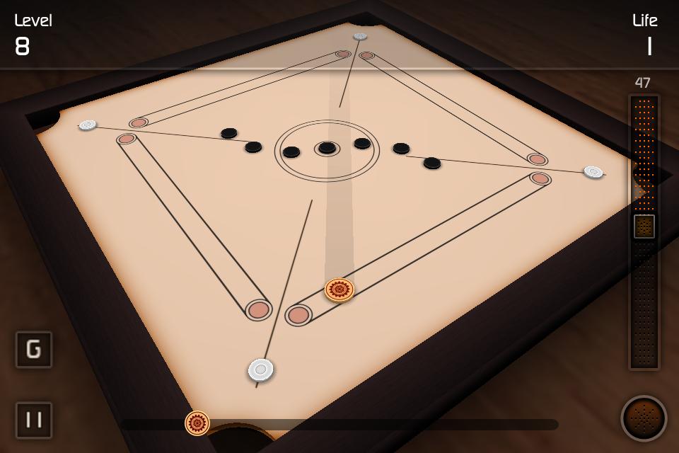 Screenshot Carrom 3D